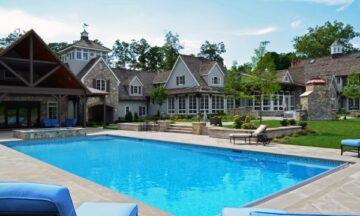 Manutenzione dell'acqua della piscina