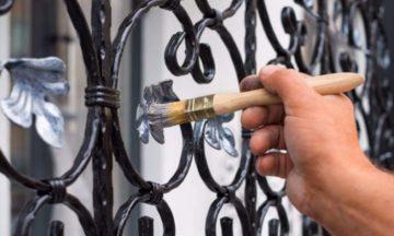 Vernice antiruggine: come verniciare un cancello in ferro